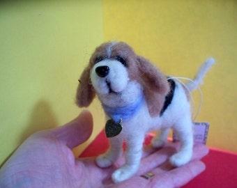 Beagle Felted Dog