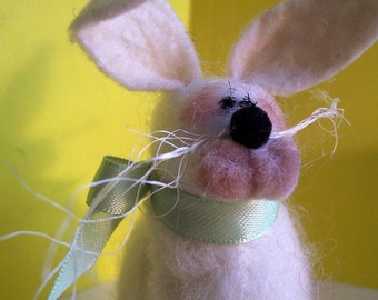 Wool Wrapped Bunny