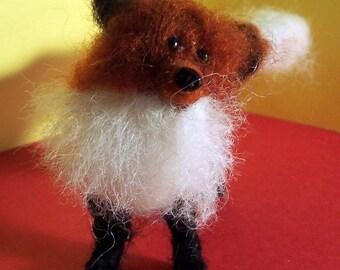 Red Wool Fox