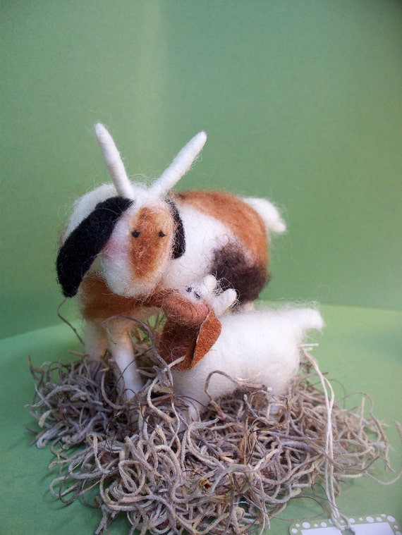 Goats, Mom and Baby Figurine - NEW for 2012