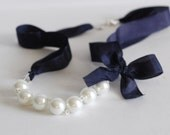 The Carrie Necklace in Nautical