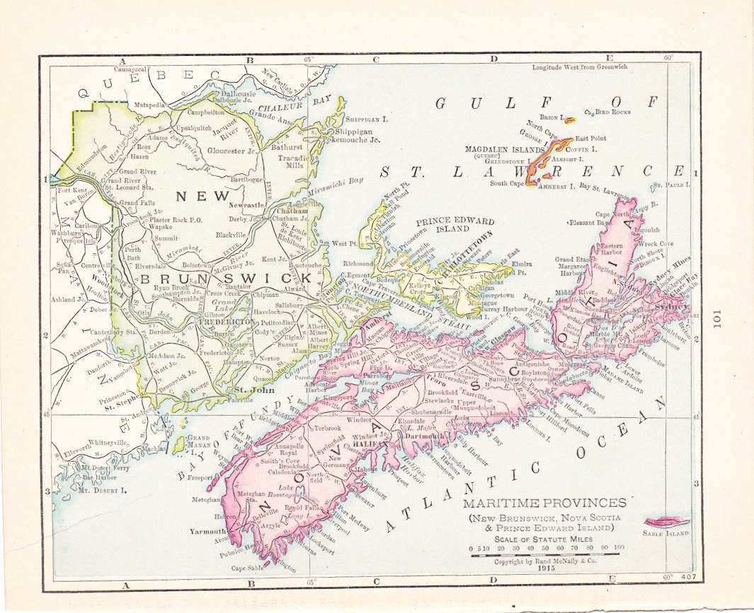 an overview of the maritime province of new brunswick New brunswick: new brunswick, canadian province located on the eastern seaboard of the north it forms the regional grouping known as the maritime provinces new brunswick has a roughly rectangular shape, about 210 promptly the new province of new brunswick was created for them in.
