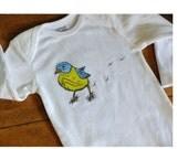 Hand drawn Bird Prints design. 100 percent cotton.