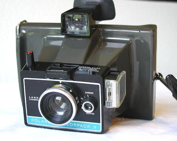 vintage polaroid colorpack ii land camera cold clip film. Black Bedroom Furniture Sets. Home Design Ideas