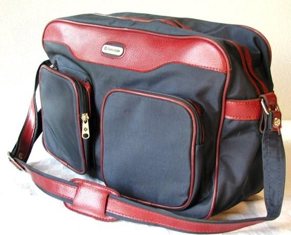 Vintage Samsonite Messenger Bag   Special Edition Weekender