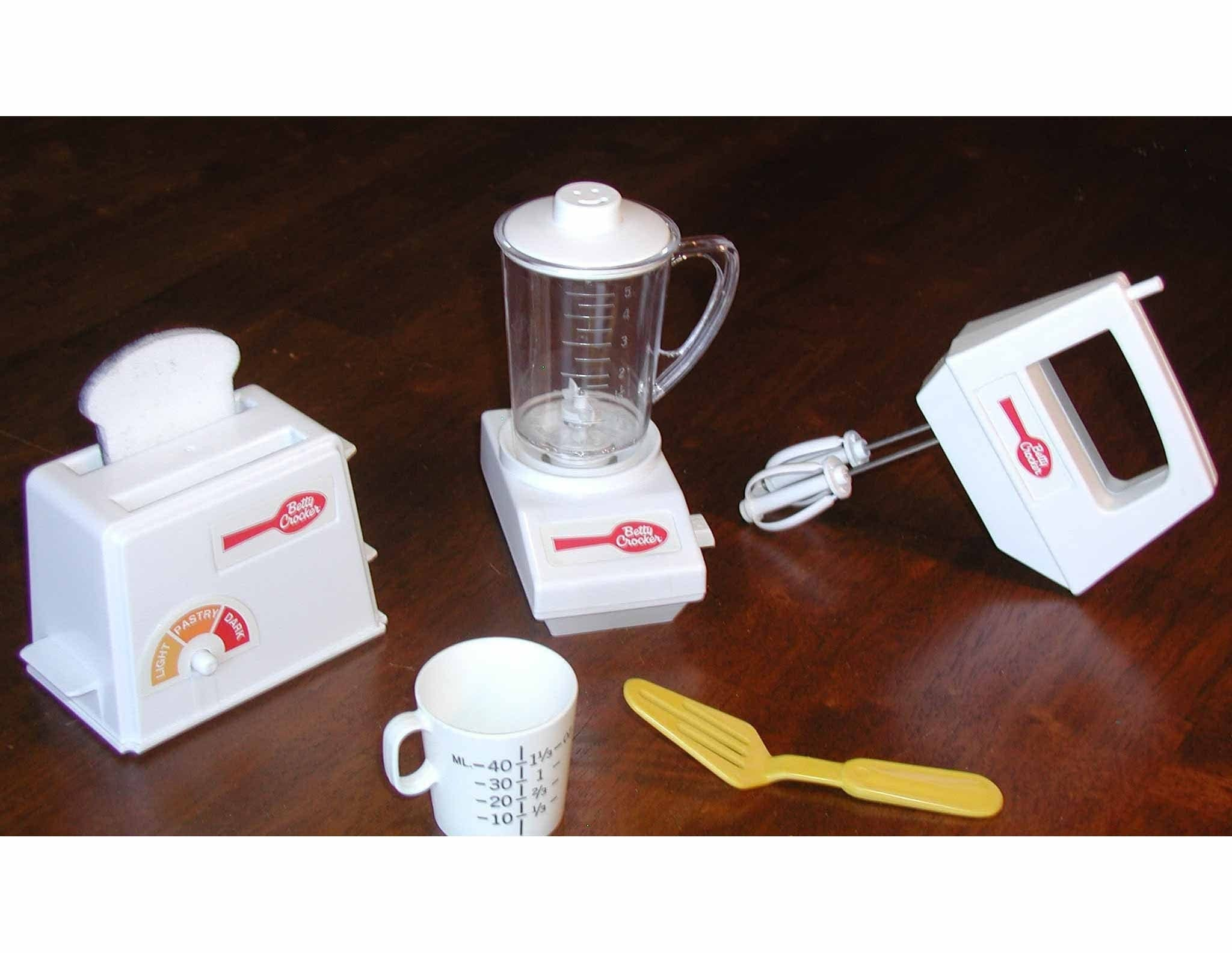 Vintage Betty Crocker Kiddy Matic Set Of Toy By