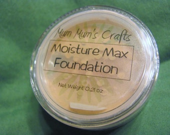 Mum Mum's Crafts Moisture Max Foundation - For Sensitive, Dry, Mature and Normal Skin Types