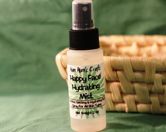 Setting Spray, Freshener and Moisturizer For All Skin Types - Happy Face Hydrating Mist
