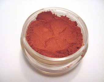 Red Eyeshadow - Salsa - Shadow and Liner - Velvet Collection Matte - 5 gram sifter jar