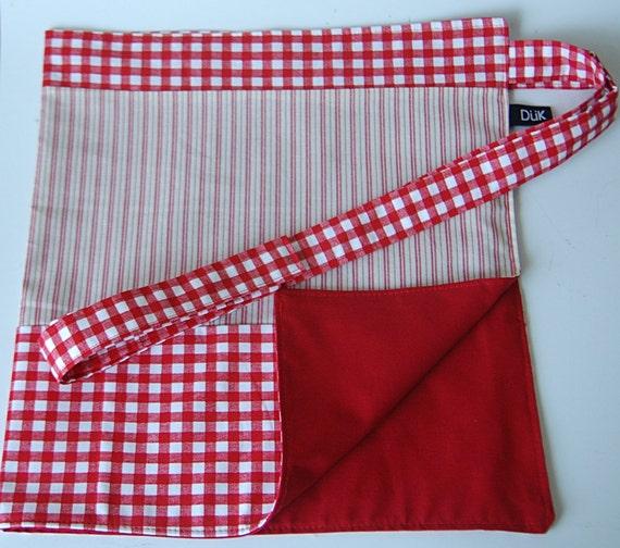 Half Apron, Market style, Vendor style, cotton, one size fits most