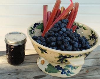 Organic BlueberryRhubarb Jam Blueberry and Rhubarb