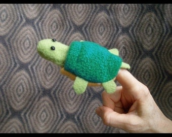Tucker Turtle Finger Puppet