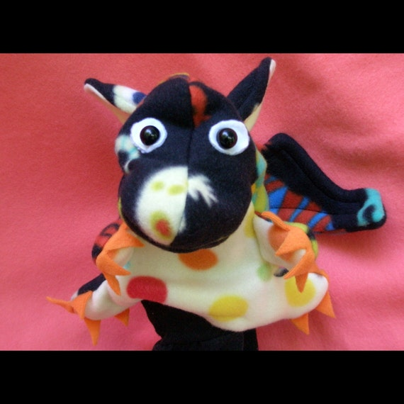 Sweet Face Baby Monster Hand Puppet