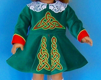 American Girl - Irish Step Dance Outfit with Shoes and Socks