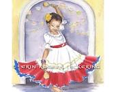 Latina Dancer 8x10 Print