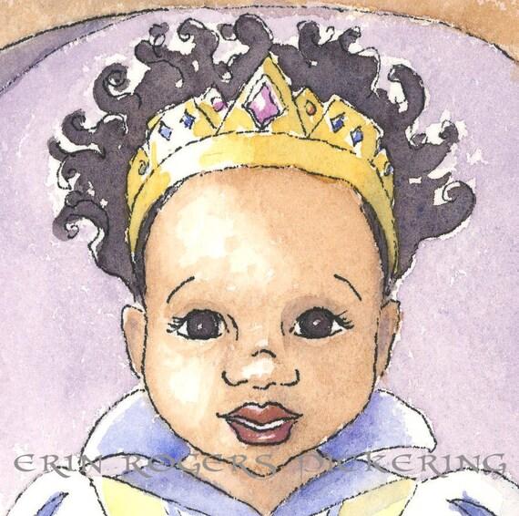 Black Snow White modern fairy tale of color 8x10 Print