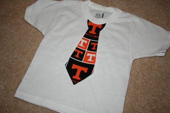 GO VOLS Power T tie applique shirt or onesie....... coordinates with GO VOLS dresses