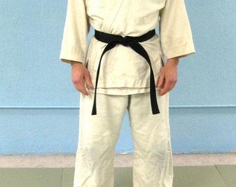 Hemp gi, martial arts uniform, aikido, karate, judo, ju jitsu, jujitsu, kendo