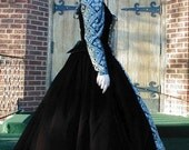 Elizabethan Renaissance Gown Gothic Dress Custom Made