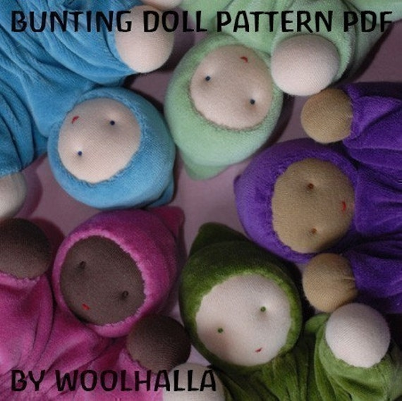Bunting Baby Doll Pattern PDF