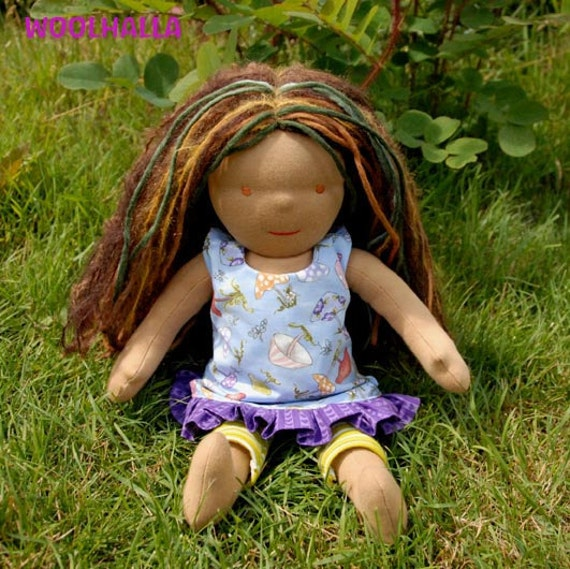 Waldorf Doll ON SALE - Sylvie RESERVED for auntcloud