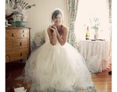 Tulle Birdcage Wedding Veil