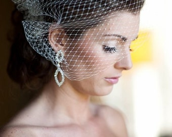 Wedding Veil as seen in Wedding Chicks Blog-- Ready to Ship