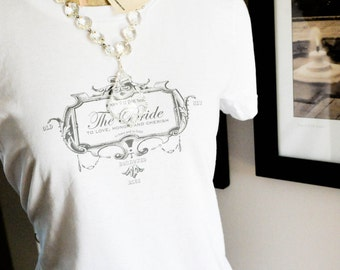 SALE-Bride Shirt-Size LARGE