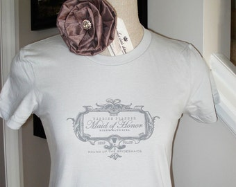 SALE-Maid of Honor Shirt-Size LARGE