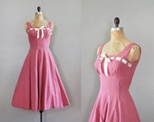 1950s dress / 50s dress / Love on Parade dress