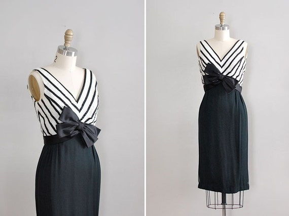 vintage 1960s Best in Bows party dress