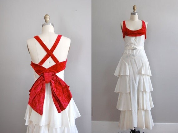 vintage 1930s One Hour With You dress