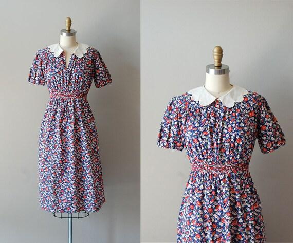 1930s dress / 30s dress / Mother May I dress