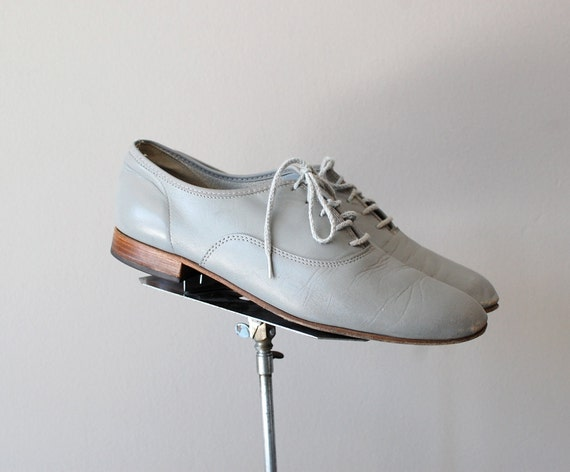 grey oxfords / leather oxfords / Mineral Oxfords