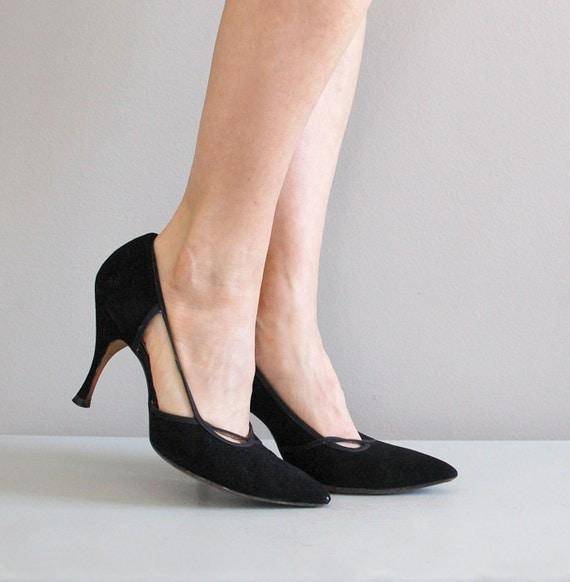 50s shoes / 1950s heels / Dovima stilettos