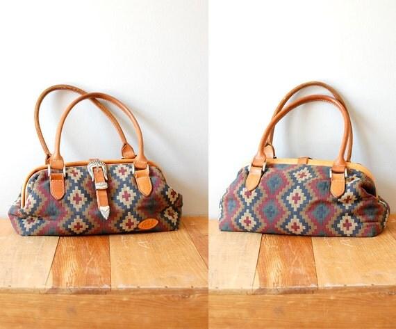 kilim bag / southwest woven purse / Nadadores Woven bag