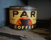 PAR Coffee Hand Poured Soy Wax Vintage Tin Can Candle PERFECT 4 Golfers, US Open, Tiger Woods, Hole In One, or Your Best Golf Pal