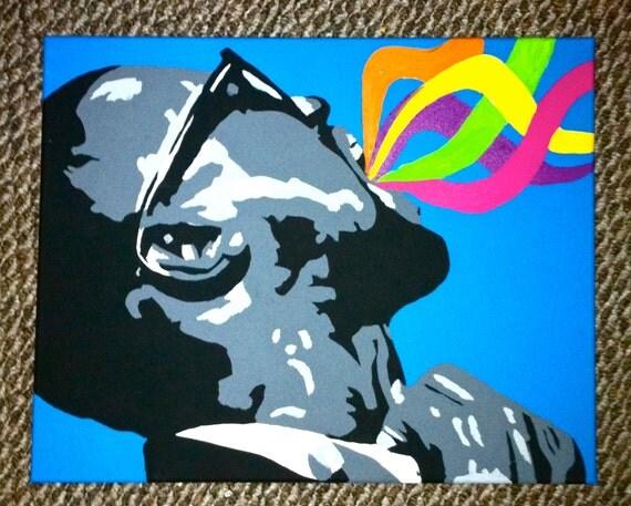 """Kanye West Painting 20"""" x 16"""""""