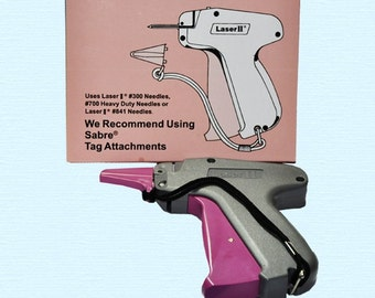 STANDARD TAG Gun - Laser II - Fasteners - Pistol Grip - Dennison Compatible -  Buy as many as you