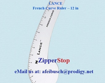 DESIGNER RULERS- French curve Ruler - 12 in - Handy accurate tool - Buy as many as you need