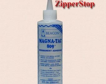 Magna-Tac Glue 809 /Permanent Adhesive / 8 oz
