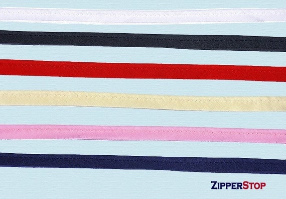 Piping Cord  5 yards Pre cut - Cording Cord edge Cord Piping - 3/8 inch Fabric with 1/8 inch Filler cord (Select color)