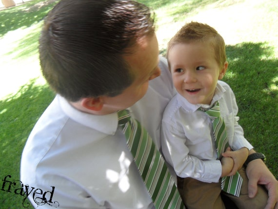 Toddler Ties - Like Father, Like Son