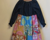 Soul Blossom Peasant Dress Size 4T   MOVING SALE