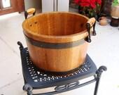 Oak Water Bucket