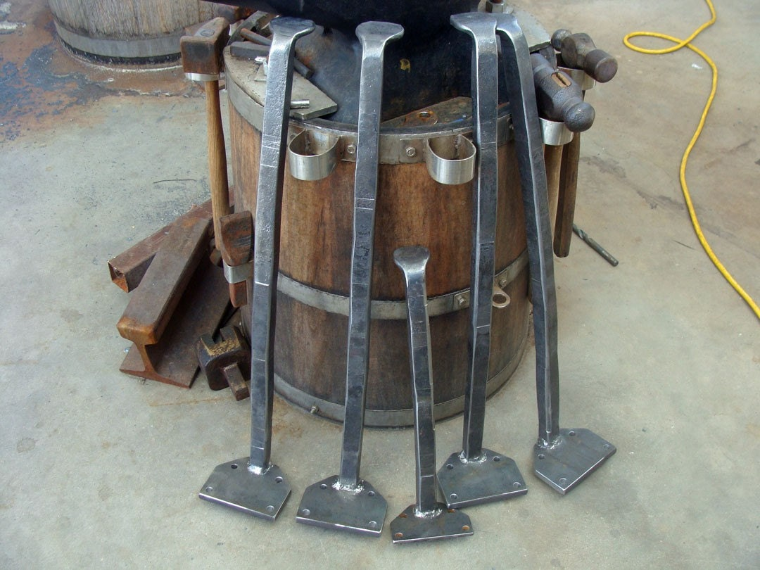 forged metal table leg set set of 4