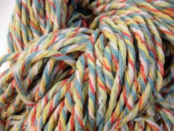 handmade upcycled yarn, Aruba