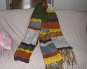 Cirular doctor who scarf