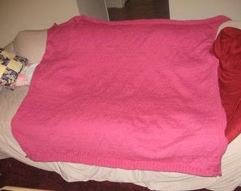 Bright Pink Blankt