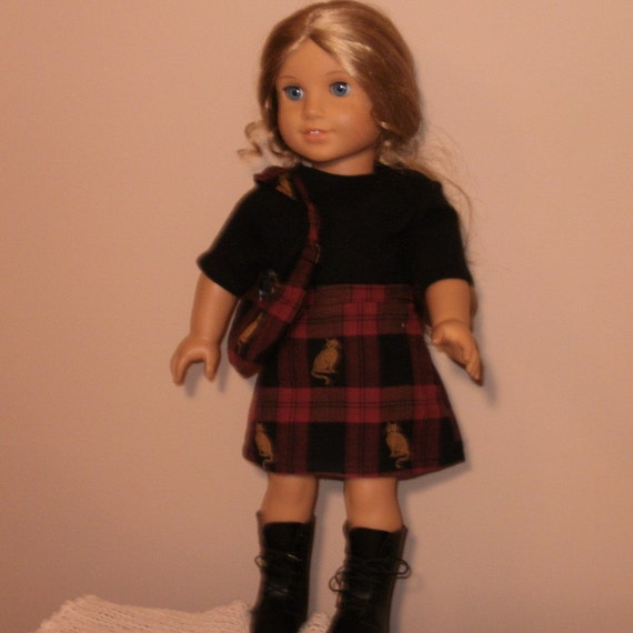 Doll Clothes 18 inch School Days Outfit